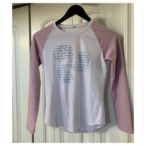 Fits like an 8 but size 4 Triple Flip girls long sleeve shirt